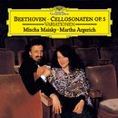 "Beethoven: 12 Variations On ""Ein Mädchen oder Weibchen"" For Cello And Piano, Op. 66; Sonatas For Cello And Piano, Op. 5; 7 Variations On ""Bei Männern, welche Liebe fühlen"", For Cello And Piano, WoO 46/Mischa Maisky, Martha Argerich"