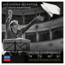 Haydn: Symphonies 78, 79, 80, 81/Accademia Bizantina, Ottavio Dantone