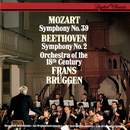 Mozart: Symphony No. 39 - Beethoven: Symphony No. 2/Frans Brüggen, Orchestra Of The 18th Century