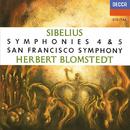 シベリウス: 交響曲 第4・5番/Herbert Blomstedt, San Francisco Symphony