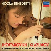 ショスタコーヴィチ: ヴァイオリン協奏曲第1番、グラズノフ: ヴァイオリン協奏曲