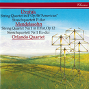 """Dvorák: String Quartet No. 12 """"American"""" / Mendelssohn: String Quartet No. 1/Orlando Quartet"""