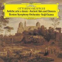 レスピーギ:リュートのための古風な舞曲とアリア