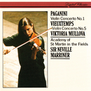 Paganini: Violin Concerto No. 1 / Vieuxtemps: Violin Concerto No. 5/Viktoria Mullova, Academy of St. Martin in the Fields, Sir Neville Marriner