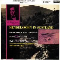 メンデルスゾーン:交響曲第3番、真夏の夜の夢