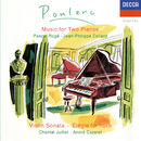 Poulenc: Sonata for 2 Pianos; Violin Sonata etc/Pascal Rogé