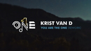 You Are The One (Rework)(Lyric Video)/Krist Van D