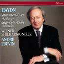 Haydn: Symphonies Nos. 92 & 96/André Previn, Wiener Philharmoniker