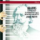 Brahms: Piano Quintet/André Previn, Musikverein Quartet