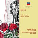 Brahms: Violin Concerto; Double Concerto/Salvatore Accardo, Heinrich Schiff, Gewandhausorchester Leipzig, Kurt Masur