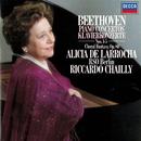 Beethoven: Piano Concertos Nos. 1-5; Choral Fantasia/Alicia de Larrocha, Radio-Symphonie-Orchester Berlin, Riccardo Chailly