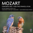 Mozart: Concerto No. 7 For Two Pianos, KV242/Silver-Garburg Piano Duo, Tasmanian Symphony Orchestra, Alexander Mickelthwate
