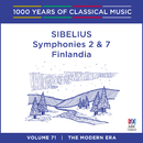 Sibelius: Symphonies Nos. 2 & 7 - Finlandia (1000 Years Of Classical Music, Vol. 71)/Adelaide Symphony Orchestra, Arvo Volmer