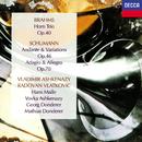 ブラームス:ホルン三重奏曲/シューマン:アンダンテと変奏曲、アダージョトとアレグロ/Radovan Vlatkovic, Vladimir Ashkenazy