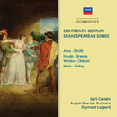 Eighteenth Century Shakespearean Songs/April Cantelo, English Chamber Orchestra, Raymond Leppard