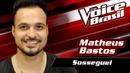 Sosseguei(The Voice Brasil 2016 / Audio)/Matheus Bastos