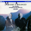 Mozart Arranged: Four Sonatas Arranged For Two Pianos By Grieg/Julie Adam, Daniel Herscovitch