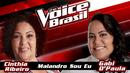 Malandro Sou Eu (The Voice Brasil 2016 / Audio)/Cinthia Ribeiro, Gabi D'Paula