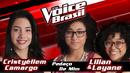 Pedaço De Mim (The Voice Brasil 2016 / Audio)/Cristyéllem Camargo, Lilian & Layane
