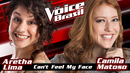 Can't Feel My Face(The Voice Brasil 2016 / Audio)/Aretha Lima, Camila Matoso