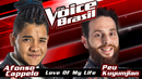 Love Of My Life (The Voice Brasil 2016 / Audio)/Afonso Cappelo, Peu Kuyumjian