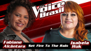 Set Fire To The Rain(The Voice Brasil 2016 / Audio)/Fabiane Alcântara, Isabela Huk
