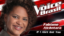 If I Ain't Got You(The Voice Brasil 2016 / Audio)/Fabiane Alcântara