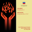 Schubert: Symphony No. 5; Beethoven: Symphonies Nos. 3, 5 & 7/Israel Philharmonic Orchestra, Wiener Philharmoniker, Sir Georg Solti