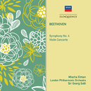 Beethoven: Symphony No. 4; Violin Concerto/Mischa Elman, London Philharmonic Orchestra, Sir Georg Solti