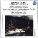 Grieg: Symphony in C minor / Sigurd Jorsalfar, Op. 22 - Incidental music/Bergen Symphony Orchestra, Karsten Andersen, London Symphony Orchestra, Oslo Philharmonic Chor, Per Dreier