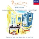 Poulenc: Mélodies Vol. 1/Catherine Dubosc, Gilles Cachemaille, Pascal Rogé