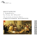 Boccherini: 3 Symphonies/Christopher Hogwood, The Academy of Ancient Music