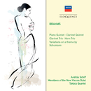Brahms: Clarinet Trio; Horn Trio; Variations on a/András Schiff, Members Of The New Vienna Octet, Takács Quartet