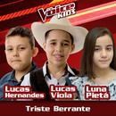 Triste Berrante (Ao Vivo / The Voice Brasil Kids 2017)/Lucas Hernandes, Lucas Viola, Luna Pietá