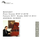 Mozart: Piano Sonatas Nos. 16 & 17 & Other Piano Works/András Schiff
