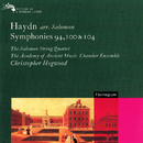 Haydn Arr. Salomon: Symphonies Nos. 94, 100 & 104/Christopher Hogwood, The Academy Of Ancient Music Chamber Ensemble