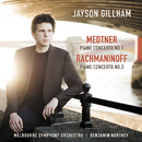 Rachmaninoff: Piano Concerto No. 2 / Medtner: Piano Concerto No. 1/Jayson Gillham, Benjamin Northey, Melbourne Symphony Orchestra
