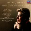 Mozart: Piano Sonata No.14; Fantasia in C Minor / Handel: Suite No. 5 / J.S.Bach-Busoni: Partita No.2/Alicia de Larrocha