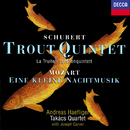 Schubert: Trout Quintet / Wolf: Italian Serenade / Mozart: Eine kleine Nachtmusik/Takács Quartet, Andreas Haefliger, Joseph Carver