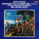 """Beethoven: Symphony No. 7; Overture """"Coriolan""""/Sir Georg Solti, Chicago Symphony Orchestra"""