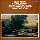 """Beethoven: Symphony No. 4 / Weber: Overture """"Oberon""""/Sir Georg Solti, Chicago Symphony Orchestra"""