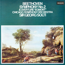 """Beethoven: Symphony No. 2; Overture """"Egmont""""/Sir Georg Solti, Chicago Symphony Orchestra"""