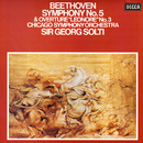 """Beethoven: Symphony No. 5; Overture """"Leonore"""" No. 3/Sir Georg Solti, Chicago Symphony Orchestra"""
