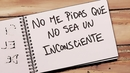 No Me Pidas Que No Sea Un Inconsciente (Lyric Video)/Andrés Calamaro