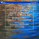 Paganini: Violin Concerto No. 1 / Rimsky-Korsakov: Flight of the Bumble-Bee / Kabalevsky: Galop from/Tasmanian Symphony Orchestra, Adele Anthony, Shalom Ronly-Riklis