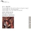Bach, J.S.: Cantatas Nos. 56, 82 & 158/Joshua Rifkin, Jan Opalach, The Bach Ensemble