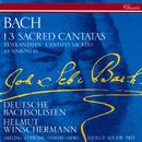 Bach, J.S.: 13 Sacred Cantatas; 13 Sinfonias/Helmut Winschermann, Elly Ameling, Ileana Cotrubas, Agnes Giebel, Julia Hamari, Kurt Equiluz, Gérard Souzay, Hermann Prey, Deutsche Bachsolisten