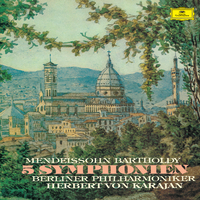 メンデルスゾーン:交響曲全集/Berliner Philharmoniker, Herbert von Karajan