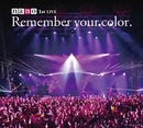 "1stライヴアルバム 初回生産限定盤 「1stLIVE""Remember your color.""」/ナノ"