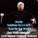 ドヴォルザーク:交響曲第8番&第9番「新世界より」/リボル・ペシェック指揮、チェコ・ナショナル交響楽団